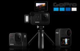 GoPro lança câmeras MAX e Hero8 Black no Brasil; conheça