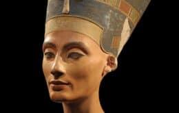Imagens 3D do busto da rainha egípcia Nefertiti são liberadas