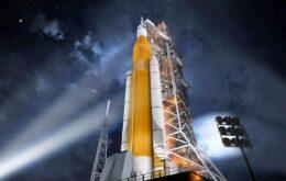 Nasa revela seu foguete mais poderoso, que levará astronautas à Lua