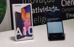 Samsung Galaxy A10 foi o smartphone Android mais vendido de 2019