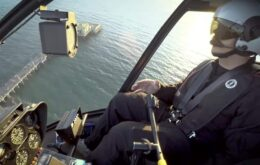 The first flight of an autonomous commercial helicopter