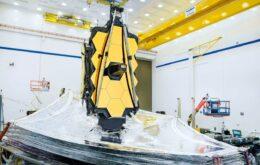 Telescópio espacial James Webb será lançado em março de 2021, diz Nasa