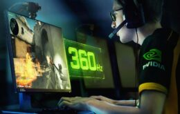 Asus apresenta monitor de 360 Hz mirando público de e-sports