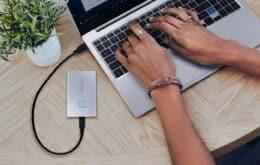 Samsung apresenta SSD portátil protegido com leitor de impressão digital