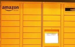 A facilidade de usar o Amazon Locker nos Estados Unidos