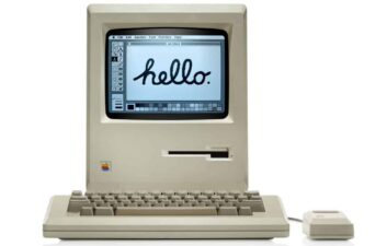 Primeiro PC com interface gráfica, Apple Macintosh completa 36 anos