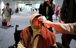 20 aeroportos dos EUA realizam exames para detectar o coronavírus