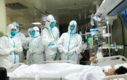 China conclui primeiro hospital para atender pacientes com coronavírus em 10 dias