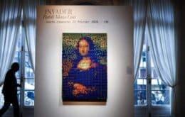 Mona Lisa hecha con 330 cubos mágicos para subastar en París