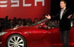 Valor da Tesla cai R$ 14 bilhões devido à queda no preço do petróleo