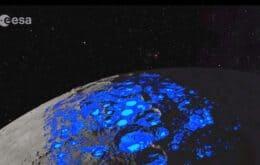 Rússia e Agência Espacial Europeia se unem para encontrar água congelada na Lua