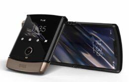 Motorola Razr terá segunda opção de cor: dourado