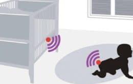 Sensor detecta quando a fralda do bebê está suja