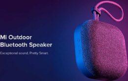 Xiaomi lança caixa de som Bluetooth para 'ar livre'