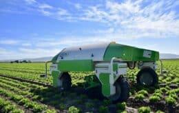 Empresa francesa desenvolve robôs coletores de ervas daninhas