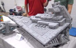 Incrível Destroyer de Star Wars de Lego tem mais de 35 mil peças