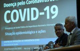 Brasil monitora 132 casos suspeitos de coronavírus