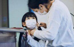 Crianças infectadas com coronavírus ficam menos doentes