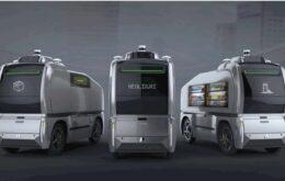 Vans autônomas desinfetam ruas e também fazem entregas de remédios e comidas na China