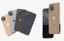 iPhone 12 pode ter design com bordas e telas retas