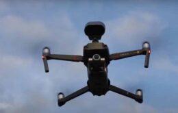Covid-19: Prefeitura do Rio usa drone 'falante' contra aglomerações