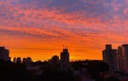 Entenda o fenômeno do céu colorido em São Paulo