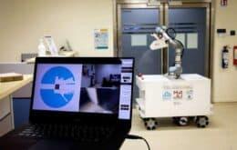 Singapura cria robô de limpeza para ajudar no combate ao coronavírus