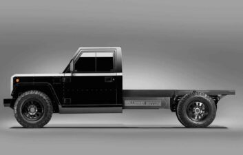 Bollinger Motors shows customizable electric chassis for pickup trucks