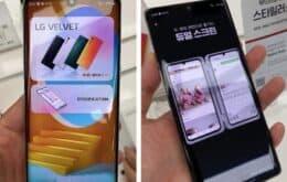 LG Velvet aparece em novas fotos e vídeo