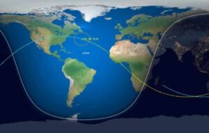 Placa tectônica terrestre está se partindo