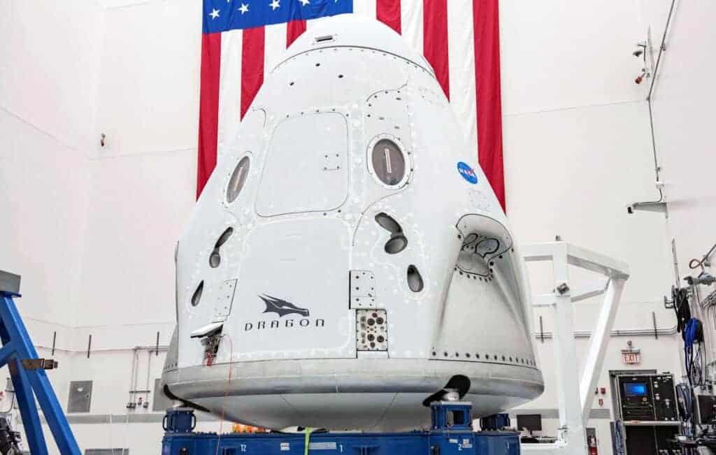 "Crew Dragon ""Endeavour"", da SpaceX"