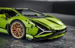 Un Lamborghini de $ 11 millones se convierte en un Lego de 4 piezas