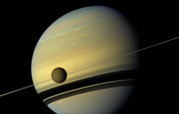 Titan moves away from Saturn more quickly than previously believed