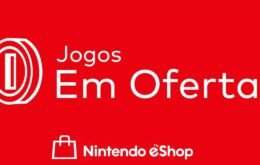 Loja brasileira do Nintendo Switch tem jogos com até 70% de desconto