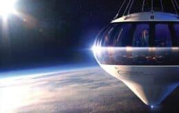 Startup oferece viagens de balão para a 'beira do espaço'