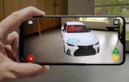 Lexus cria app de realidade aumentada para lançar carro na pandemia