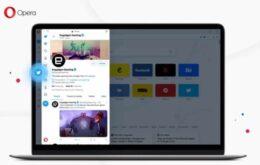 Nova versão do Opera traz Twitter integrado à barra lateral