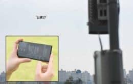 Samsung anuncia solução de drone com IA para otimizar antenas
