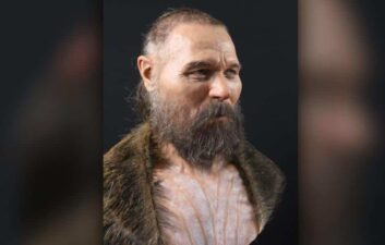 Artist recreates Stone Age face from skull; check out