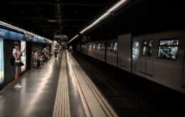 Barcelona testa IA em metrôs para impedir propagação do coronavírus