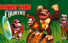 'Donkey Kong Country' chega este mês ao Nintendo Switch Online