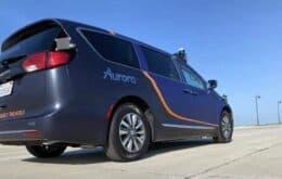 Aurora testará sua frota de veículos autônomos no Texas