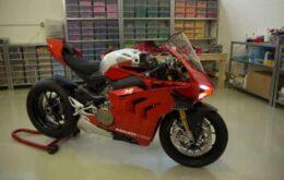 Lego se supera a sí mismo y crea la motocicleta Ducati italiana con 15 mil piezas