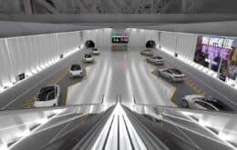 Elon Musk muestra cómo la estación conectará túneles en Las Vegas