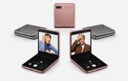 Samsung lança versão do Galaxy Z Flip com novo processador e 5G