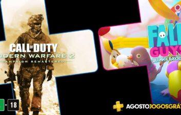 Confira quais serão os jogos gratuitos de agosto na PS Plus
