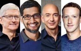 CEOs da Apple, Google, Amazon e Facebook são convidados para audiência na Europa
