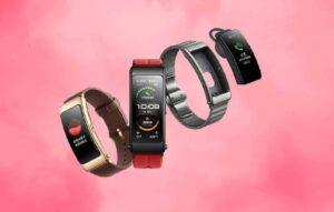 Huawei mostra nova pulseira inteligente