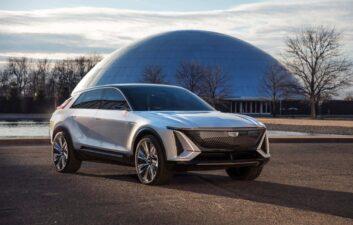 El Cadillac eléctrico tendrá una pantalla de realidad aumentada