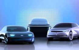 Hyundai anuncia três modelos de carros elétricos da nova linha Ioniq